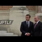 LIVE: Putin and Macron meet in Versailles: arrivals and protocol