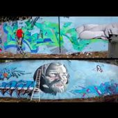 How to paint a big wall - Guadeloupe - Steek Dsu feat Def crew - 2016