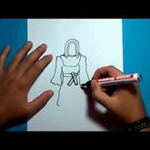 Como dibujar un fantasma paso a paso 11 | How to draw a ghost 11