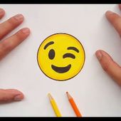 Como dibujar un Emoji paso a paso 10 | How to draw an Emoji 10
