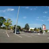 Goldwing Unsersbande Calw départ du parking