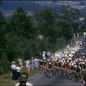 16mm Tour de France 1953 in HD in color