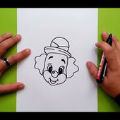 Como dibujar un payaso paso a paso 11 | How to draw a clown 11