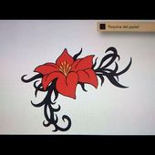 Como dibujar una flor 2 - Art Academy Atelier Wii U | How to draw a flower 2