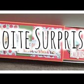 [Tutoriel n°13] : boîte surprise ❀ | Scrap with Steph