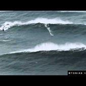 Nazaré : Garrett McNamara sur la plus grosse vague du monde
