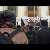 Paris: des centaines de personnes rassemblées contre Boko Haram