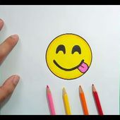 Como dibujar un Emoji paso a paso 9 | How to draw an Emoji 9