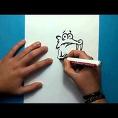 Como dibujar a Scrat paso a paso 2 - Ice age | How to draw Scrat 2 - Ice age