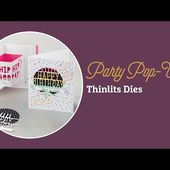 Party Pop-Up Thinlits Dies by Stampin' Up!