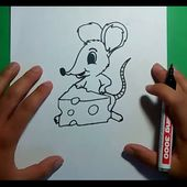 Como dibujar un raton paso a paso 7 | How to draw a mouse 7