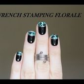 French Stamping Florale
