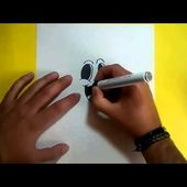 Como dibujar un fantasma paso a paso 10 | How to draw a ghost 10