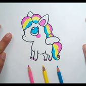 Como dibujar un Poni paso a paso | How to draw a Pony