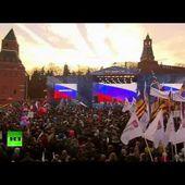 Moscou : Le concert célébrant le rattachement de la Crimée
