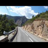Goldwing Unsersbande - descente valberg vers guillaumes 2