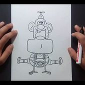 Como dibujar a Tito Yayo paso a paso 3 - Tito Yayo | How to draw Uncle Grandpa 3 - Uncle Grandpa