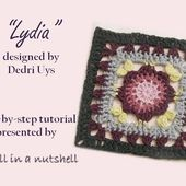 Lydia - Optional square for Sophie's Universe CAL part 19
