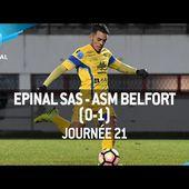J21 : SAS Epinal - ASM Belfort (0-1), le résumé