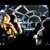 Musique Film - Star Wars 5 - L'empire Contre Attaque 1980 ( Harrison Ford ).Diamant Noir