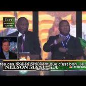 Voici ce qu'a vraiment traduit le faux interprète de la cérémonie d'hommage à Mandela