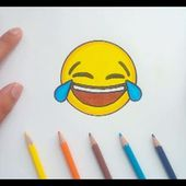 Como dibujar un Emoji paso a paso 4 | How to draw an Emoji 4