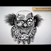 Como dibujar un payaso terrorifico - Art Academy Atelier Wii U | How to draw a horror clown