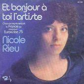 Nicole Rieu - Et Bonjour a Toi L'Artiste
