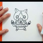 Como dibujar a Robonyan paso a paso - Yo Kai Watch | How to draw Robonyan - Yo Kai Watch