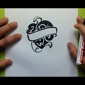 Como dibujar un corazon tribal paso a paso | How to draw a tribal heart