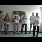 Extrait du concert de fin d'année 2013/14 de la chorale de l'association DAVAI (le 05/07/14)