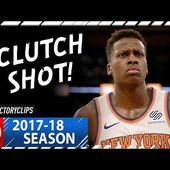 Frank Ntilikina Full Highlights vs Pacers (2017.11.05) - 10 Pts, 7 Ast, CLUTCH!