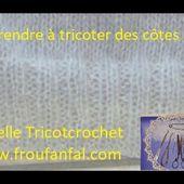 TUTO tricoter des cotes 2 2