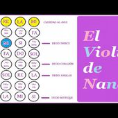 "Como Tocar la Canción ""Pirulito"" a Violín | Canción Infantil"