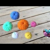 Tutoriel comment faire un bouton facile au crochet DIY