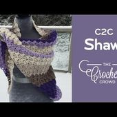 How To Crochet A Shawl: Corner to Corner Shawl