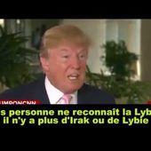 Donald Trump sur les guerres néocoloniales occidentalo-américain