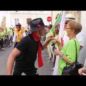 Semaine fédérale cyclo de Mortagne : défilé de clôture chaleureux !