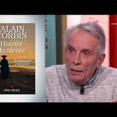 Alain Corbin explore l'histoire du silence