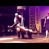 BODY SUSPENSION with Charlyne,Beto Rea & Friends at the Tattoo convention in Berlin
