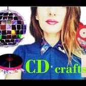 10 creative ways to reuse / recycle your old CDs / DVDs