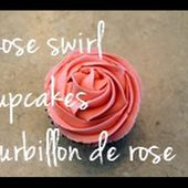 How to pipe buttercream rose