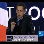 Sarkozy - les paradis fiscaux, c'est terminé (2009) !