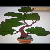 Como dibujar un bonsai - Art Academy Atelier Wii U | How to draw a bonsai