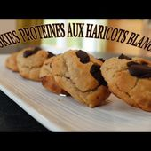 COOKIES PROTEINES: Haricots blancs