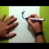 Como dibujar un tribal paso a paso 124 | How to draw one tribal 124
