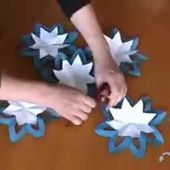 COMMENT FAIRE UNE FLEUR TRES SIMPLE ORIGAMI