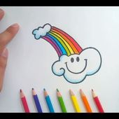 Como dibujar nubes paso a paso | How to draw clouds