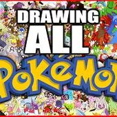 Let's Draw EVERY POKEMON Live! - YouTube