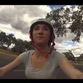 Parade contre les 'magpies' - Melanie en Australie